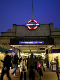 Underground Station, London, England Photographic Print by Neil Farrin