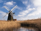 Herringfleet Drainage Mill, Suffolk, UK Photographie par Nadia Isakova