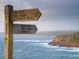 England, Cornwall, Lands End Looking North Towards Sennen Cove, UK Photographic Print by Alan Copson