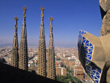 Sagrada Familia Cathedral, Barcelona, Spain Photographic Print by Jon Arnold