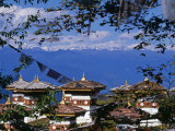 Dochu La, the Pass Is a Mystical Place with Views North to the Himalayas, Bhutan Photographic Print by Paul Harris