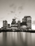 Canary Wharf, Docklands, London, England Photographic Print by Jon Arnold