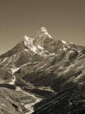 Ama Dablam, Khumbu Valley, Everst Region, Nepal Photographic Print by Jon Arnold