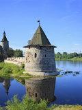 Pskov Kremlin from the Pskova River, Pskov, Pskov Region, Russia Photographic Print by Ivan Vdovin