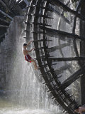 Syria, the Waterwheels at Hama, known as Norias, Have Been Standing Since the 13th Century, Hama Photographic Print by Julian Love