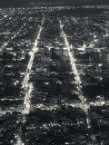 Salta Province, Salta, View from Cerro San Bernardo, Evening, Argentina Photographic Print by Walter Bibikow