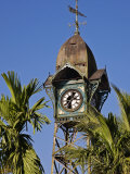 Burma, Rakhine State, the Old Clock Tower at Sittwe, Myanmar Photographic Print by Nigel Pavitt