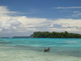 Espiritu Santo Island Port Olry, Port Olry Town Beach, Vanuatu Photographic Print by Walter Bibikow