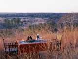 South Luangwa National Park, Bushcamps Company, Sundowners in the Bush, Zambia Photographic Print by John Warburton-lee