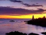 New Brunswick, Campobello Island, East Quoddy Lighthouse, Canada Photographic Print by Alan Copson