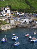 England, Cornwall, Port Isaac, UK Photographic Print by Alan Copson