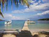 Bay Islands, Roatan, Half Moon Bay, Honduras Photographic Print by Jane Sweeney