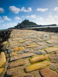 England, Cornwall, St Michaels Mount, UK Photographic Print by Alan Copson