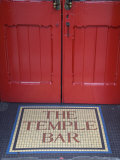 Temple Bar Pub Sign, Temple Bar District, Dublin, Ireland Photographic Print by Doug Pearson