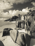 Seychelles, La Digue Island, L'Union Estate Plantation, Anse Source D'Argent Beach Photographic Print by Walter Bibikow