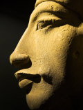 Bust of the 18th Dynasty Pharoah Akhenaten in the National Museum in Alexandria, Egypt Photographic Print by Julian Love