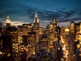Vue du Chrysler Building et de Midtown Manhattan, New York City, États-Unis Photographie par Jon Arnold
