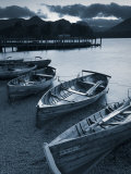 Rowing Boats, Derwent Water, Lake District, Cumbria, UK Photographic Print by Doug Pearson