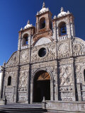 Cathedral in Riobamba, Ecuador, Photographic Print