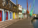 Antigua, Heritage Quay Shopping District in St, John's, Caribbean Photographic Print by Gavin Hellier