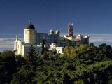 Built in the 1840S, Palacio De Pena in the Hills Above Sintra Is a Deliberate Fantasy of Kitsch Photographic Print by Amar Grover