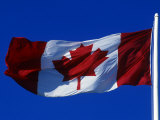 Canadian Flag, Canada Photographic Print by John Warburton-lee
