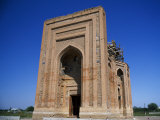 Turabeg Khanum Mausoleum Built Circa 1370 Ad, Turkmenistan Photographic Print by Antonia Tozer