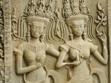 Siem Reap, Ankor Wat, the Famous Temple of Angkor Wat, Cambodia Photographic Print by David Bank