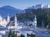 Alt Stadt and Hohensalzburg Fortress, Salzburg, Austria Fotografie-Druck von Peter Adams