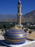 Nizwa Mosque, Nizwa, Oman, One of the Oldest and Most Famous Forts in Oman Is the One at Nizwa Photographic Print by Antonia Tozer