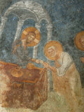 St. Nicholas Church Fresco of Jesus with Apostle, Myra, Anatolia, Turkey, Asia Minor, Eurasia Photographic Print by  Godong