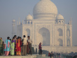 Taj Mahal, UNESCO World Heritage Site, Agra, Uttar Pradesh, India, Asia Photographic Print by Wendy Connett