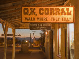 O.K. Corral, Tombstone, Cochise County, Arizona, United States of America, North America Photographic Print by Richard Cummins