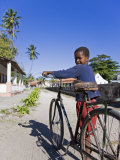 Young Boy on Ibo Island, Part of the Quirimbas Archipelago, Mozambique Fotografisk tryk af Julian Love