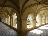 Cloister, Fontevraud Abbey, Fontevraud, Maine-Et-Loire, France, Europe Photographic Print by  Godong