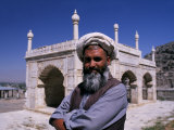 Kabul, Marble Pavilion in Grounds the Tomb of Babur, Founder of Mughal Dynasty, Kabul, Afghanistan Photographic Print by Antonia Tozer