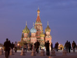 St, Basil&#39;s Cathedral, Red Square, Moscow, Russia Photographic Print by Demetrio Carrasco