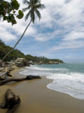 Arenilla Beach, Tayrona National Park, Colombia, South America Photographic Print by Ethel Davies