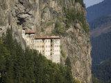 Sumela Monastery, Trabzon, Anatolia, Turkey, Asia Minor, Eurasia Fotografisk trykk av Rolf Richardson
