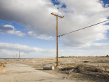 California, Salton City, Ghost Town around the Salton Sea, USA Photographic Print by Walter Bibikow