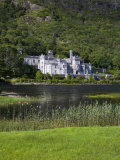 Kylemore Abbey and Lake, Connemara, County Galway, Connacht, Republic of Ireland, Europe Photographic Print by Richard Cummins