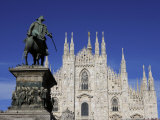 Duomo, Milan, Lombardy, Italy, Europe Photographic Print by Vincenzo Lombardo