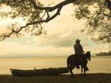 Isla De Ometepe, Lake Nicaragua, Sunset, Nicaragua Photographic Print by John Coletti