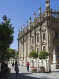 Tourist Photographs the Magnificent Baroque Architecture of Seville's Cathedral, Spain Photographic Print by John Warburton-lee