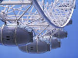 View Looking Up at Millennium Wheel from Embankment, London Photographic Print by Calum Stirling