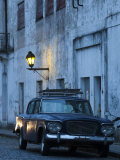 Colonia Del Sacramento, Old 1960S Studebaker Lark Car on Calle San Jose, Uruguay Photographic Print by Walter Bibikow