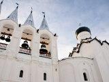 Bell Tower, Bogorodichno-Uspenskij Monastery, Leningrad Region, Russia Photographic Print by Nadia Isakova