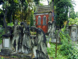 Lychakiv Cemetery Graveyard Decorated with Statues Photographie par Christian Kober