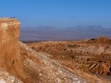 Mountain Biking in the Atacama Desert, Chile Fotoprint van John Warburton-lee