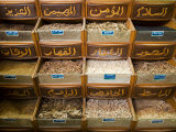 Spices for Sale in the Souq-Al-Atterine Near Khan El-Khalili, Cairo, Egypt Photographic Print by Julian Love